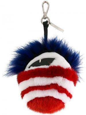 Брелок для ключей Bag Bugs Fendi. Цвет: чёрный