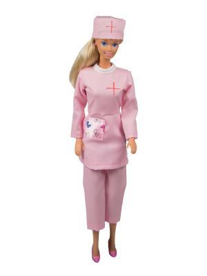Костюм медсестры для куклы 29 см Модница.. Цвет: розовый