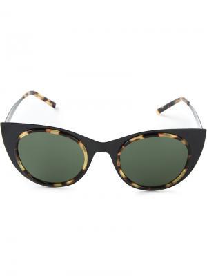 Солнцезащитные очки Angel Kyme. Цвет: чёрный