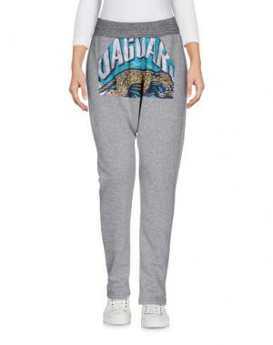 Повседневные брюки MINIMARKET. Цвет: серый