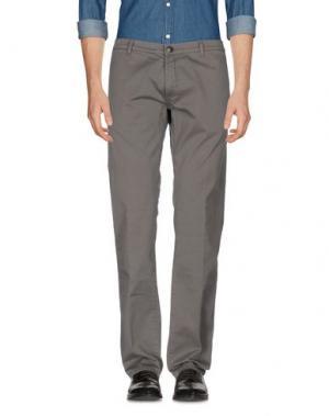Повседневные брюки RICHARD JAMES BROWN. Цвет: серый