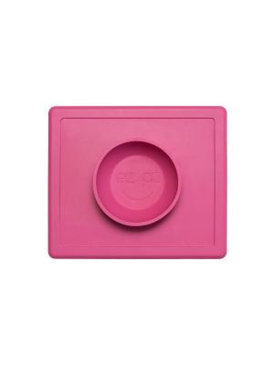 Тарелка-плейсмат ezpz. Цвет: розовый