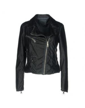 Куртка JIJIL. Цвет: темно-синий