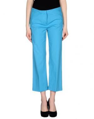 Повседневные брюки KILTIE. Цвет: лазурный