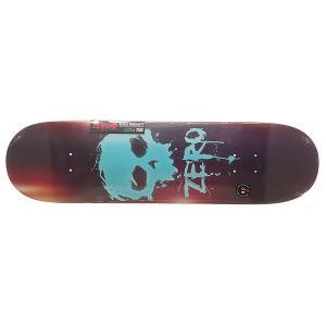 Дека для скейтборда  S6 R7 Blood Skull 32.3 x 8.5 (21.6 см) Zero. Цвет: мультиколор