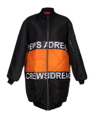Куртка ANDREA CREWS. Цвет: черный