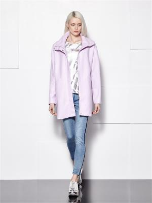 Пальто Mohito. Цвет: розовый, синий, фуксия