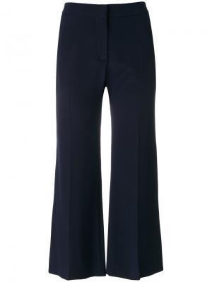 Расклешенные брюки Valentino. Цвет: синий