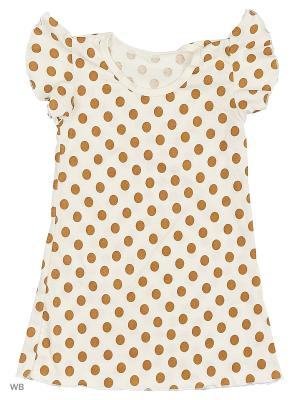 Ночные сорочки КВК. Цвет: бронзовый, кремовый, золотистый