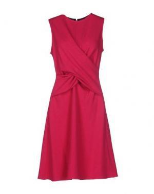 Короткое платье ISSA. Цвет: фуксия