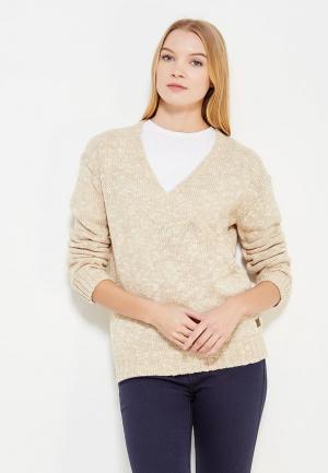 Пуловер Rip Curl. Цвет: бежевый