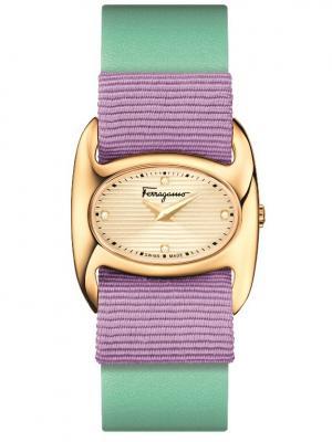 Часы Salvatore Ferragamo. Цвет: белый