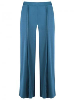 Широкие брюки Lygia & Nanny. Цвет: синий