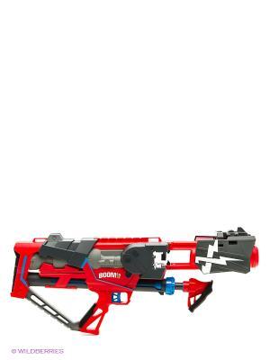 Boomco  Супер-бластер Сумасшедшая атака. Цвет: серый, голубой, красный