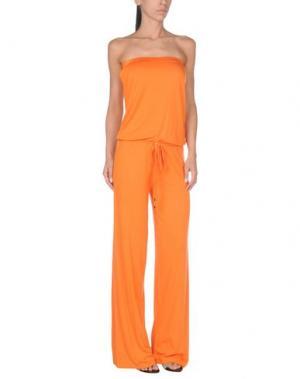 Пляжное платье DELFINA. Цвет: оранжевый