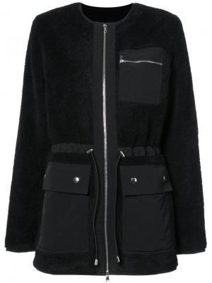 Куртка на молнии Nomia. Цвет: чёрный