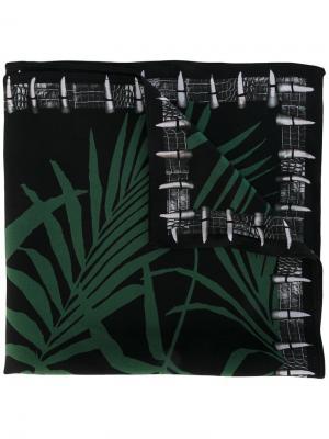 Платок Palms Rockins. Цвет: чёрный
