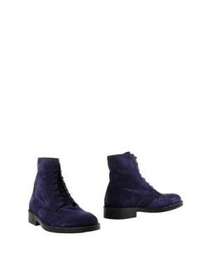 Полусапоги и высокие ботинки BORGO MEDICEO. Цвет: фиолетовый
