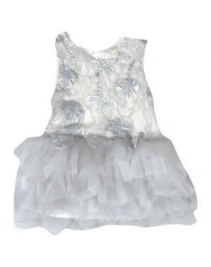 Платье MICROBE. Цвет: серый
