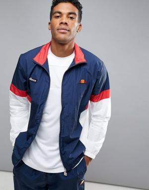 Ellesse Спортивная куртка в стиле ретро. Цвет: темно-синий