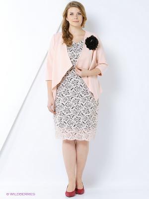 Комплект одежды Amelia Lux. Цвет: черный, розовый