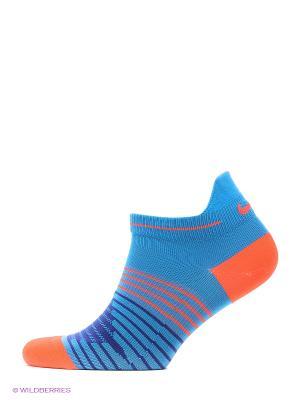 Носки NIKE RUNNING DRI-FIT LIGHTWEIG. Цвет: синий, красный, темно-синий