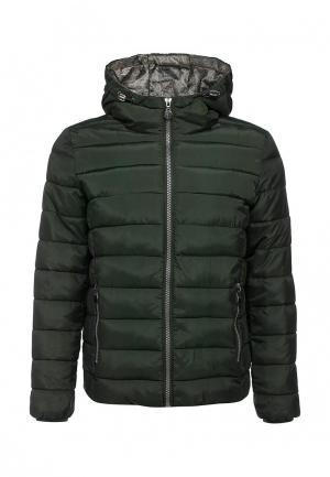 Куртка утепленная Mythic. Цвет: зеленый