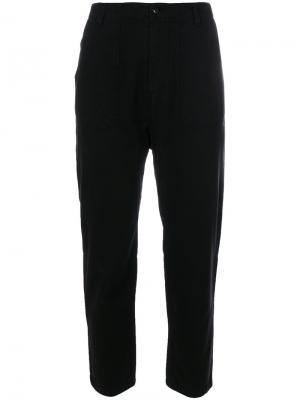 Cropped trousers Bellerose. Цвет: чёрный