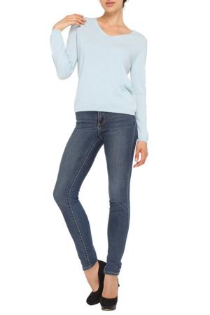 Пуловер LOVE CASHMERE. Цвет: голубой