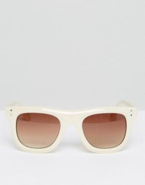 AJ Morgan Квадратные солнцезащитные очки. Цвет: медный