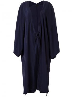 Duster kimono jacket Osklen. Цвет: синий