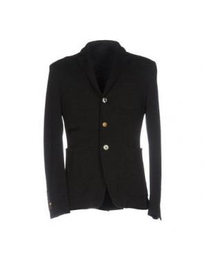 Пиджак JOHN SHEEP. Цвет: темно-коричневый