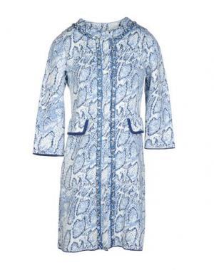 Легкое пальто CHARLOTT. Цвет: лазурный