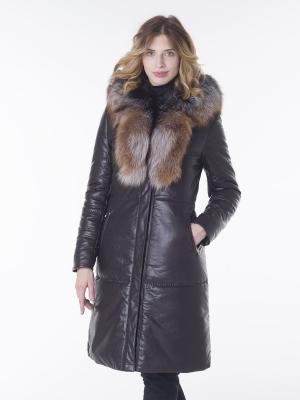 Пальто OSTRICH. Цвет: коричневый
