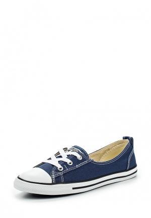 Кеды Converse. Цвет: синий