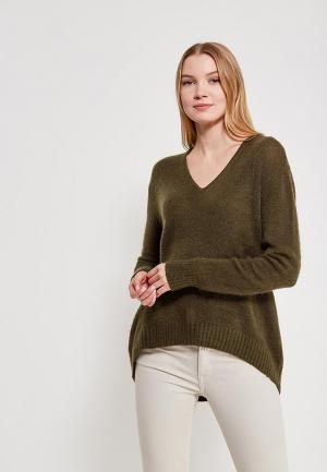 Пуловер Jacqueline de Yong. Цвет: зеленый
