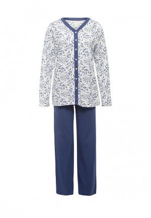 Пижама Relax Mode. Цвет: синий