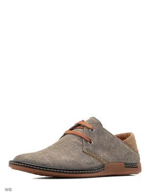 Туфли Companion. Цвет: серо-коричневый