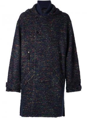 Пальто Malespine Tillmann Lauterbach. Цвет: синий