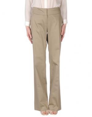 Повседневные брюки MER DU NORD. Цвет: серый