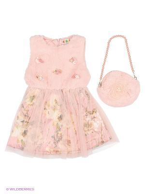 Комплект Kidly. Цвет: розовый