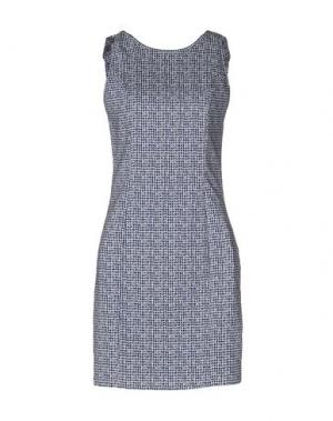 Короткое платье CHILI PEPPERS. Цвет: синий