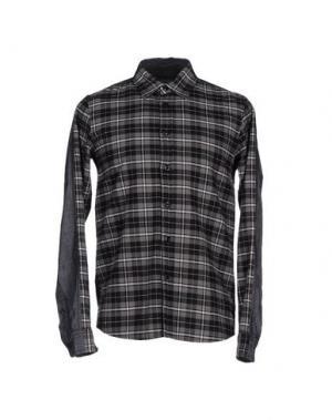 Pубашка IZZUE. Цвет: серый