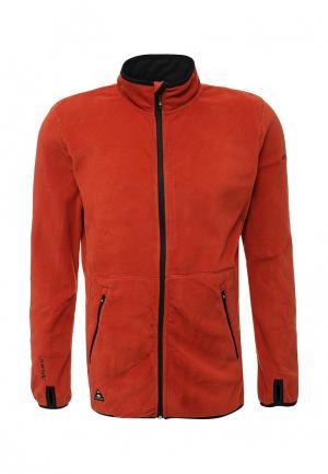 Олимпийка Quiksilver. Цвет: оранжевый
