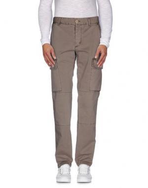 Повседневные брюки BLAUER. Цвет: светло-коричневый