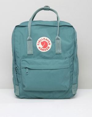 Fjallraven Зеленый рюкзак Kanken. Цвет: синий
