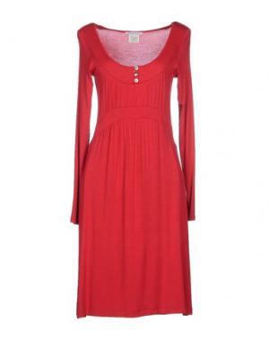 Короткое платье GERMANO ZAMA. Цвет: красный