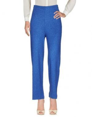 Повседневные брюки LAFTY LIE. Цвет: синий