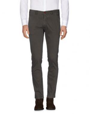 Повседневные брюки BARBATI. Цвет: зеленый-милитари