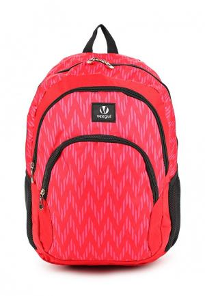 Рюкзак Veegul. Цвет: розовый
